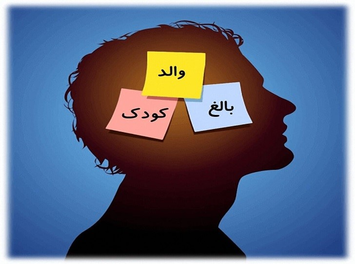 تصویری نشان دهنده سه وضعیت در ذهن انسان از منظر تحلیل رفتار متقابل